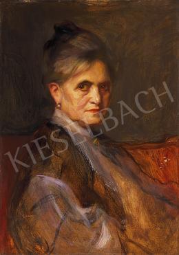 László Fülöp - A művész édesanyjának portréja