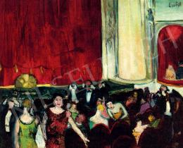 Emőd, Aurél - In the Theatre, 1930s
