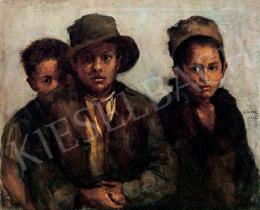 Kunffy, Lajos - Gipsy Children, 1923