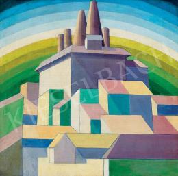 Ismeretlen festő - Modern város