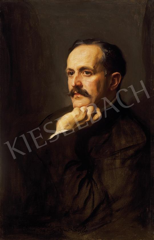 László Fülöp - László Marcell portréja   10. Auction aukció / 147 tétel