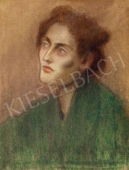 Rippl-Rónai József - Női arckép