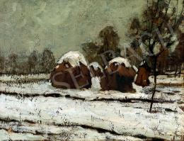 Rudnay, Gyula - Hay-Stacks under Snow