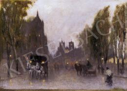 Berkes, Antal - Twilight in the city