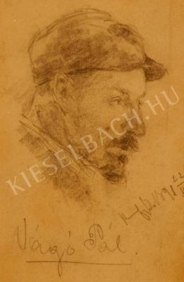 Kunffy Lajos - Vágó Pál portréja