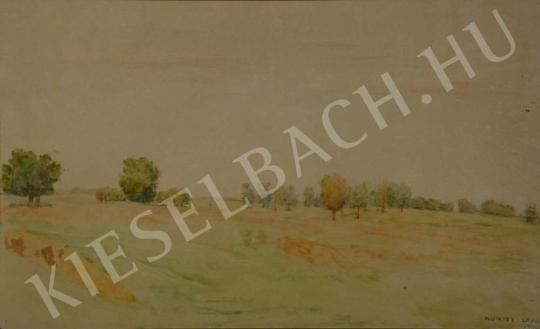 Eladó  Kunffy Lajos - Tavasszal festménye