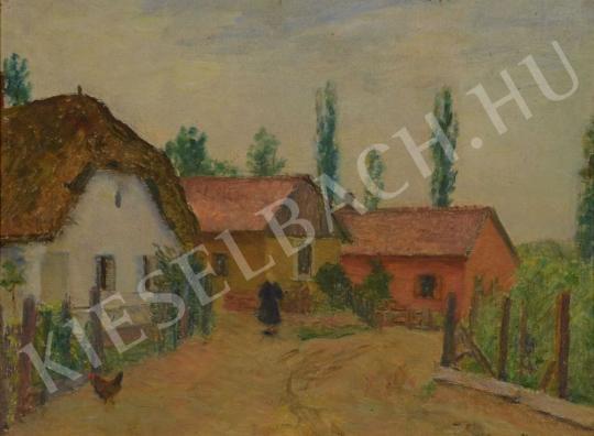 Eladó  Kunffy Lajos - Somogytúri utca festménye