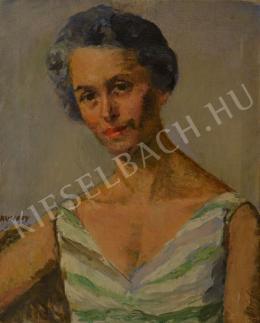 Kunffy Lajos - Kunffy Zoltánné portréja, 1961