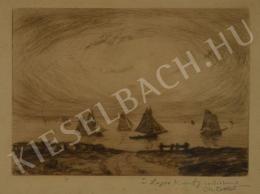 Cottet, Charles - Vitorlások a tengeren