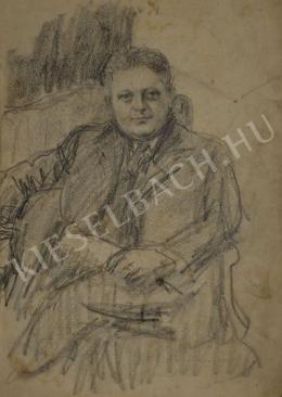Kunffy Lajos - Férfi portré