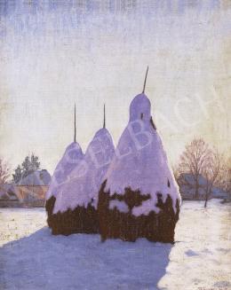 Börtsök Samu - Tél Nagybányán