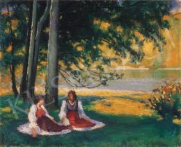 Balla Béla - Napfényes ligetben, 1929