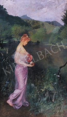 Basch Árpád - Lila selyemben