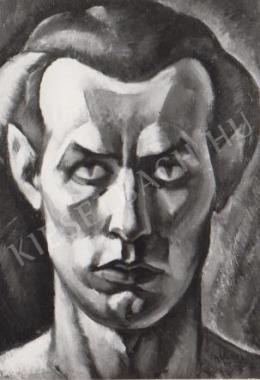 Gábor Jenő - Önarckép (1921)