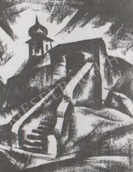 Gábor Jenő - A Mindszentek temploma (1922)