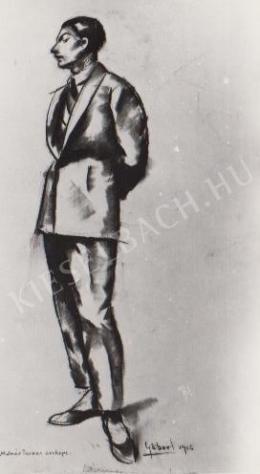 Gábor Jenő - Molnár Farkas portréja (1922)