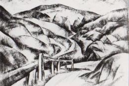 Gábor Jenő - Hegyi út (1922)