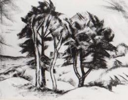 Gábor Jenő - Négy fa (1922)