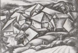 Gábor Jenő - Lelátás a Havihegyről (1922)