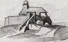 Gábor Jenő - Mindszentek temploma (1922)