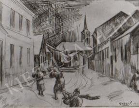 Gábor Jenő - Ágoston templom festménye