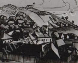 Gábor Jenő - Rálátás a Tettye völgyére