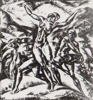 Gábor Jenő - Tánc festménye