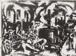 Gábor Jenő - Aszfaltozók (1922)