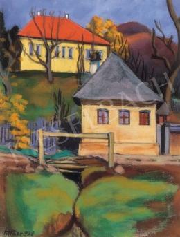 Pittner Olivér - Piros tetős házak