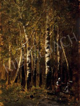 K. Spányi, Béla - Walking in the forest