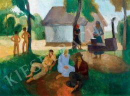 Patkó Károly - Déli pihenő (1930 k)