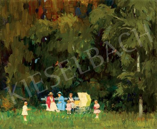 Nyilasy, Sándor - In the Sunlit Park | 45th Auction auction / 2 Item