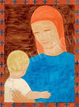 Ferenczy Noémi - Anya gyermekével