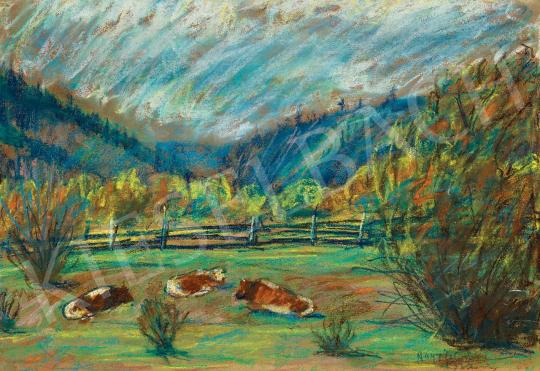 Nagy István - Őszi domboldal (Erdély) | 45. Aukció aukció / 12 tétel