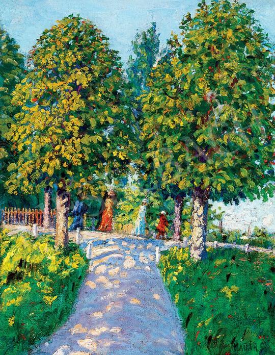 Kádár, Géza - Park in Nagybánya | 45th Auction auction / 14 Item