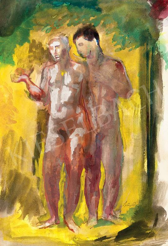 Szőnyi, István - Adam and Eve | 45th Auction auction / 15 Item