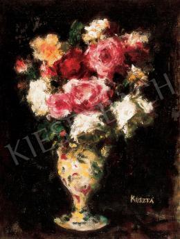 Koszta József - Virágcsendélet vázában