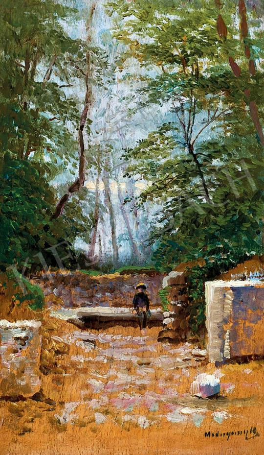 Mednyánszky, László - In the Park (Boy on the Bench) | 45th Auction auction / 22 Item