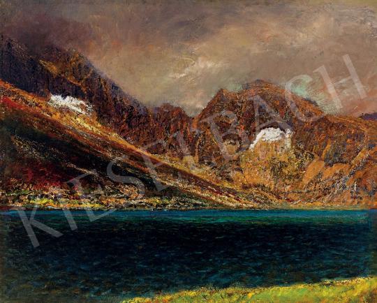 Mednyánszky, László - Tarn in the Tatras | 45th Auction auction / 28 Item