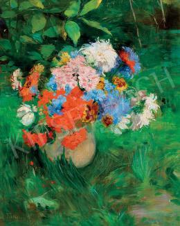 Telkessy, Valéria, - Still-Life of Flowers