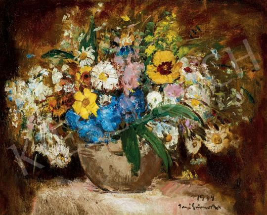 Iványi Grünwald, Béla - Still-Life of Flowers, 1934 | 45th Auction auction / 30 Item