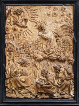 Ismeretlen itáliai művész - Olajfák hegyén (16. század)
