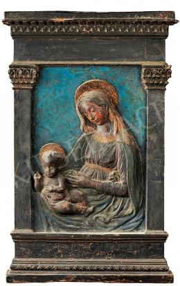 Ismeretlen itáliai művész - Madonna a gyermekkel (1500 körül)