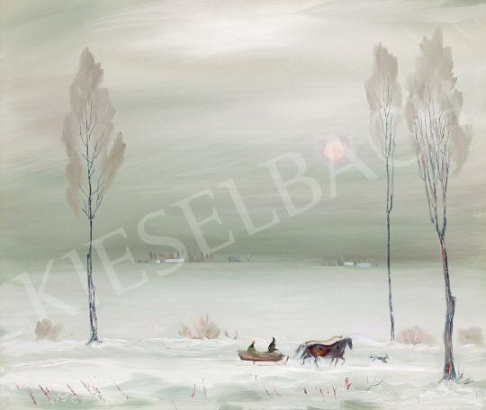 Molnár C., Pál - Winter Landscape | 45th Auction auction / 45 Item