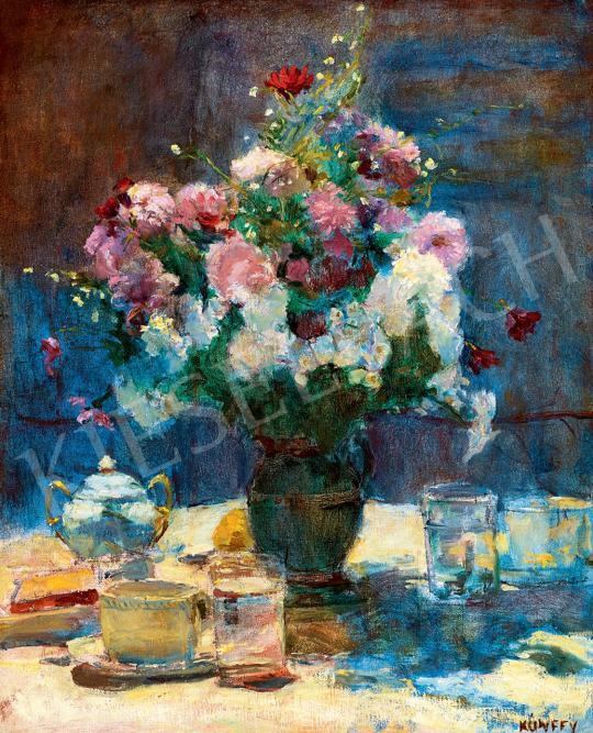 Kunffy, Lajos - Sunlit Still-Life of Flowers | 45th Auction auction / 47 Item