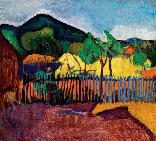 Bornemisza, Géza - View to the Hill, c. 1909 | 45th Auction auction / 48 Item