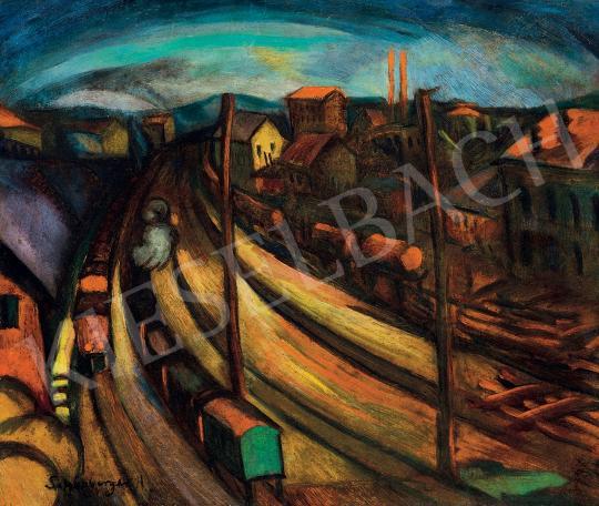 Schönberger Armand - Vasúti sínek | 45. Aukció aukció / 59 tétel