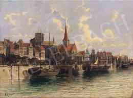 A. Hübner jelzéssel - Holland kikötő
