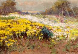 Kárpáthy, Jenő - Girls on the flowery Field