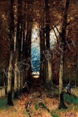 Paál László - Eső után, őszi hangulat (Napnyugta)